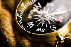 Detail closeup compass Stock Images