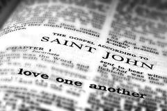 New Testament Scripture Quote Gospel of St. John