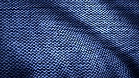 Detail cloth of denim for pattern and background, Close up. Cotton Fabric Texture. Top View of Cloth Textile Surface royalty free stock photography