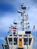 Detail of a Coastguard Ship Stock Photos