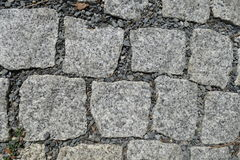 Detail of cobble street texture Stock Photos