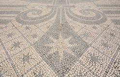 Detail of a cobblestone pavement - Lisbon, Portugal Stock Photos