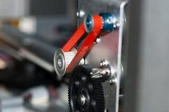 Detail of a cog belt Stock Images