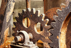 Detail Of Cogwheel Royalty Free Stock Images