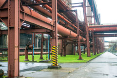 Detail of Coking plant Stock Photography