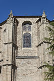 Detail of Collegiate Church of Santa Maria Royalty Free Stock Photos