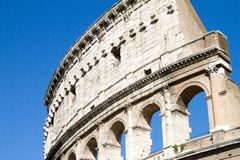 Detail of colloseum Royalty Free Stock Photo