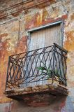 Detail of the colonial house, old Havana Royalty Free Stock Image