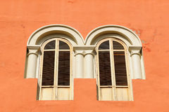 Detail of the colonial window Stock Photo