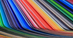 Detail of color palette Royalty Free Stock Images