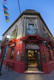 Detail of colored architecture in La Boca Royalty Free Stock Images