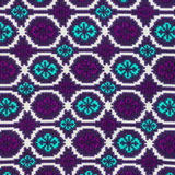 Detail of colorful background textile. Royalty Free Stock Photo