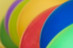Detail of colorful balloons Royalty Free Stock Photo