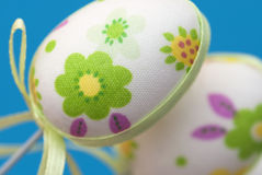 Detail of beautiful easter eggs Stock Photo