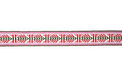 Detail of colorful folk costume belt Royalty Free Stock Photography