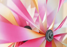 Detail of colorful pinwheel Royalty Free Stock Photos