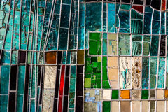 Colorful Glass Window Royalty Free Stock Photo