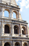 Detail of Colosseum in Rome Stock Image