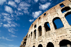 Detail of the Colosseum in Rome Royalty Free Stock Photo