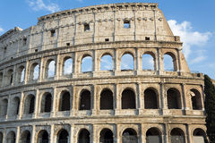 Detail of the Colosseum in Rome, Italy Stock Photography