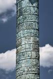 Detail of column Vendome. In Paris Stock Image