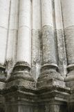 Detail of columns in Lisbon, Portugal. Stock Photo