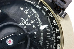 Detail of a Compass Stock Photos