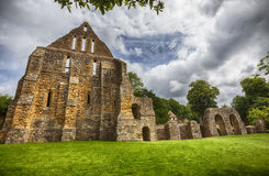 Detail of complex in Battle Abbey in town of Battle in East Suss Royalty Free Stock Image