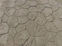 Detail of conrete sidewalk Stock Image