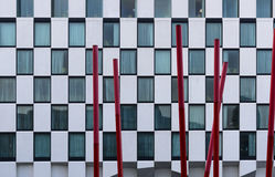 Detail of contemporary architecture Royalty Free Stock Photo