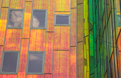 Detail of a contemporary office building in Deventer Royalty Free Stock Photography