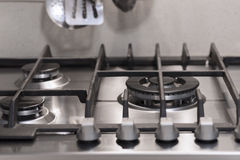 Detail of a cooker Royalty Free Stock Photos