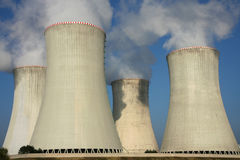 Detail of cooling towers Stock Image