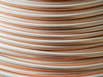 Detail of a copper tube coil. Stock Photography