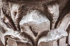 Detail of Corinthian column Stock Image