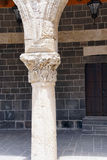 Detail of Corinthian columns Stock Photos