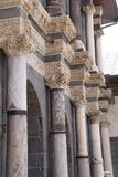 Detail of Corinthian columns Royalty Free Stock Photos