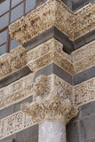 Detail of Corinthian columns Royalty Free Stock Photo