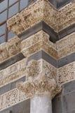 Detail of Corinthian columns Royalty Free Stock Photo