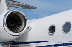 Detail of corporate jet Royalty Free Stock Photography