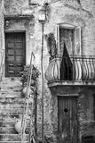 Detail of Corsica Architecture Royalty Free Stock Photography