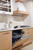Detail of country style white  kitchen Stock Photography