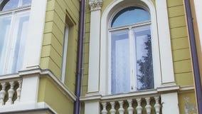 Detail of county building, Pozega Stock Photos