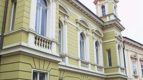 Detail of county building, Pozega Stock Photo