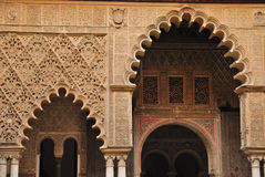 Detail Courtyard of the maidens Royalty Free Stock Image