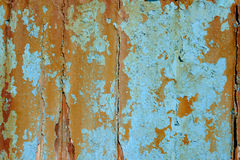 Detail of cracked rusty paint texture Royalty Free Stock Photos