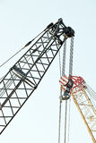 The detail of the crane industry Stock Photography