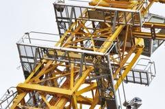 Detail of crane tower Stock Photos