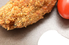 Detail of Croquettes Stock Photos