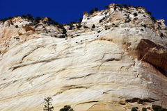 Detail, cross current layers of colored sandstone Royalty Free Stock Photography